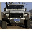 Front bumper with winch defender B1