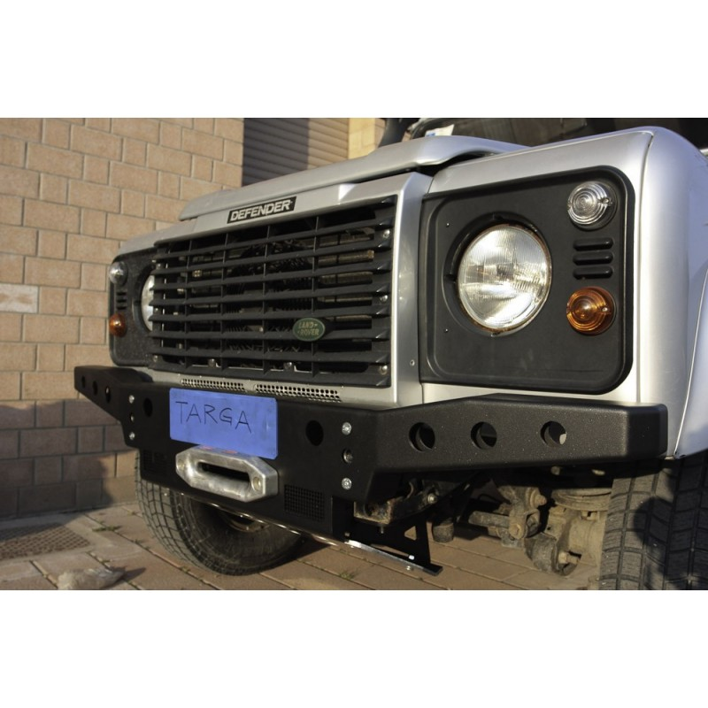 Front Winch Bumper Land Rover Discovery I Bluelakeoffroad: Front Bumper With Winch Defender B1