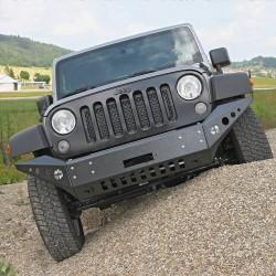 Front bumper Wrangler JK V1