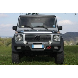Front bumper black-mud Mercedes