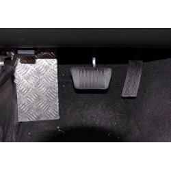 Wrangler JK driver foot support